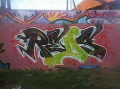 REDS from the MIA to LA ese!! (missREDS_AM7) Tags: red graffiti tracks spraypaint graff reds am7 missred amseven fewandfar missreds allmightyseven