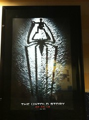 Another spiderman movie #TheUntoldStory #7/3/12 (bubbletea1) Tags: 7312 theuntoldstory spidermanmovie