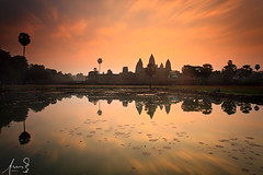Angkor Wat - Cambodia (sachman75) Tags: history sunrise religious temple cambodia southeastasia angkorwat historic siemreap relic canon1740mmf4 leefilters canon5dmarkii bigstopper