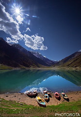 LAKE SAIF-UL-MULUK (PHOTOROTA) Tags: pakistan lake reflection nature colors canon landscape flickr kaghan abid concordians 5dmarkii photorota