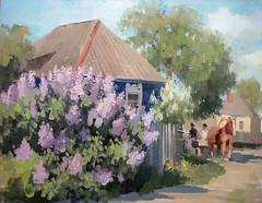 . .  . 2012, .., 4050  (Dmitry Samodranov) Tags: light art beauty painting landscape scenery artist air exhibition oil oils pleinair               samodranov     vyazmitin