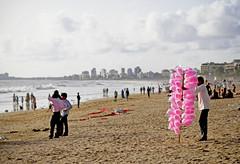 IMG_3208-001 (mallikagurnani) Tags: street sea sky india beach canon 50mm sand 50mm14 cottoncandy mumbai niftyfifty canon7d