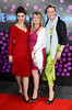 Sue Collins, Maria Tecce, Ann Gildea The 50th Anniversary of 'The Late Late Show' at RTE Studios Dublin, Ireland