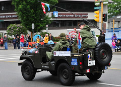 1968 Kaiser M38A1 CDN2 (D70) Tags: canada day bc jeep military united north hats off canadian burnaby vehicle soldiers uniforms 1968 kaiser nations m38a1 7847 cdn2