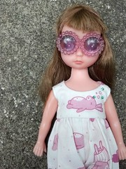 I adore this Little Dolly (Lawdeda ❤) Tags: beer beautiful monster fun for high eyes day sad little goggles adorable susie jumper sse fishknees susieshenanigans