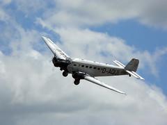 Junkers Ju52-3mg8e - 5 (NickJ 1972) Tags: aviation airshow duxford lufthansa 2010 iwm ju52 daqui junkers flyinglegends dcdlh