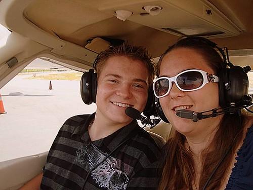 Flying with Kasiri Landon
