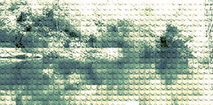landscape (William Keckler) Tags: green art digital spring stream lego abstractart digitalart 19thcentury victorian pixelart abstraction pixels streaming legoart digitallandscape digiscape springlandscape victorianlandscape digitalstream 19thcenturylandscape legograph