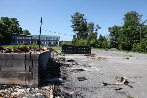 New York Truck Parts scrap metal dumpster