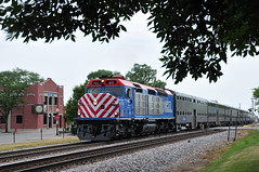 Overcast Wagon Shot (The Mastadon) Tags: road railroad chicago train illinois midwest rail railway trains il transportation locomotive railroads chicagoland douchebag flatlander midwestern