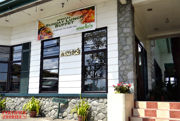 Mario's Baguio, located at the Upper Session Road