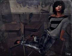 ..:: OUTFIT 17 ::.. (NyTrO StOrE) Tags: street urban woman man store mesh wear clothes hip hop styel nytro