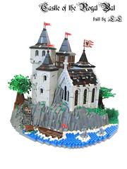 Castle of the Royal Bat ('LL') Tags: city trees tower castle classic landscape medieval cc knights keep stronghold fortress ll bats fright lolino