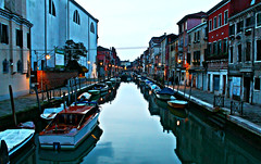 (nycie91) Tags: city travel venice sunset water landscape venezia viaggio travelphotography
