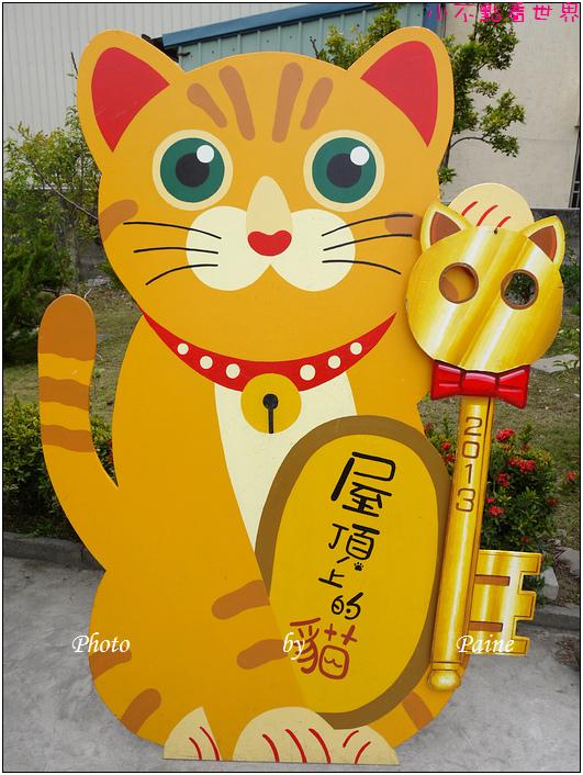 雲林虎尾屋頂上的貓 (31).JPG