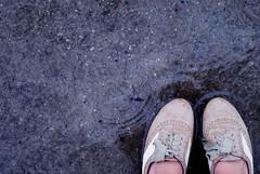 110.365 (MRCDS.potter) Tags: brown feet rain weather shoes tan relaxing rainy april raindrops 365 pouring aprilshowers oxfords