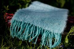 Handwoven scarf (Libellune) Tags: scarf handwoven libellune