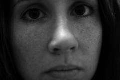 Day139 (rendezvousnu) Tags: portrait people blackandwhite selfportrait monochrome closeup self photography vanity eulalie project365 projecteulalie
