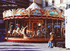 carousel (ambcroft) Tags: travel travelling florence nikon memories sightseeing carousel firenze ricordi giostra viaggio viaggiare carosello nikond3000