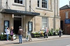 Victoria Hall Flower Stall Oakham Rutland (@oakhamuk) Tags: flower stall rutland oakham victoriahall martinbrookes