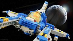 LL-1923 Girl Power (billyburg) Tags: female idea lego space astronaut benny spaceship exploration lunar sensor outpost warpspeed geological