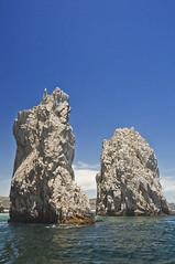 Waxen (El Justy) Tags: travel sea summer vacation sky water landscape mexico cabo outdoor pacificocean cabosanlucas seastacks