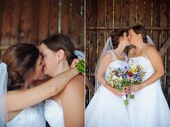 krista and kaitlyn (Stephanie Loy Son) Tags: gay wedding lesbian couple hamilton lgbt weddingphotography pridemonth dundurncastle nikond700