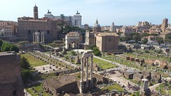 2016-05-09 10.57.54 (nickbruce483) Tags: sky italy roma architecture buildings ancient europe stones bricks structure observatory ages ways fororomano ancientcity