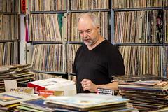Week 19 ~ Portrait: Messy (JimmyWilsonPhotography) Tags: records vintage littlerock vinyl albums dogwood52 dogwoodweek19 beenaroundrecords