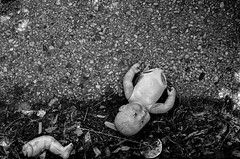 forgotten (Eric Baggett) Tags: street blackandwhite broken monochrome lost noiretblanc decay stlouis forgotten babydoll stl bnw decaying blackandwhitephotography bentonpark leicaxvario ericbaggett