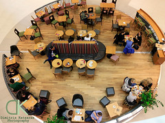 Rest for some coffee at the mall. ( ) Tags: mall shopping photography design cafe view top interior centre perspective poland polska polish center photograph galleria dimitris poznan kawa kawiarnia   kawy       katsaras