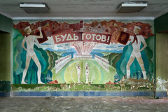 Be Ready! (Igor) Tags: lenin urban abandoned rust decay murals forgotten urbanexploration pioneers decayed sovietunion ussr cccp lostplaces sonya7 ilce7