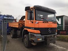 MB Actros 1835 (Vehicle Tim) Tags: truck mercedes kipper mb fahrzeug lkw actros