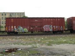 09-01-10 (31) (This Guy...) Tags: road railroad car train graffiti box graf rail rr traincar boxcar graff 2010