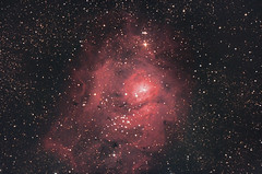 Messier 8 Lagoon Nebula (TheWitscher) Tags: messier 8 lagoon nebula lagunennebel m newton gso teleskop telescope 2001000 canon eos 1000 da heq5