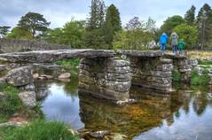 Clapper bridge, Postbridge, Dartmoor (Baz Richardson) Tags: bridges devon rivers dartmoor postbridge clapperbridge eastdartriver