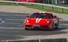 2009 Ferrari 430 Scuderia (FurLined) Tags: red ferrari 2009 scuderia 430 brooklands 2016 autoitalia