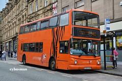 Arriva Yorkshire Tiger 898, W398RBB. (EYBusman) Tags: west bus town coach yorkshire centre tiger north east company northumbria alexander dennis halifax huddersfield trident arriva alx400 w398rbb eybusman