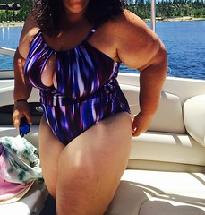 Boating (ThickCpl) Tags: sexy thick bathingsuit