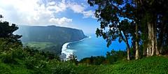 Hawaii waipio valley (DianaTeeDub) Tags: ocean sky beach hawaii shore bigisland waipio waipiovalley