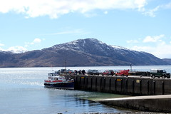 Inverie pier (Lotje quilts) Tags: scotland pier highlands jetty hills loch westernisles knoydart inverie