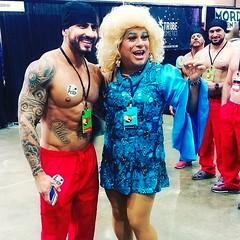 LACON1 (danimaniacs) Tags: man hot sexy guy smile tattoo beard drag muscle muscular hunk dragqueen stud scruff friedalaye rupaulsdragcon
