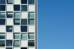Building of ICC (Jan van der Wolf) Tags: blue windows sky abstract building geometric lines architecture composition blauw denhaag ramen icc architectuur gebouw lijnen map14987v internationalcrinimalcourt