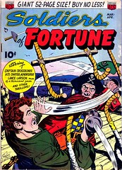 Soldiers of Fortune 1 (Michael Vance1) Tags: art adventure artist anthology comics comicbooks cartoonist war man monsters pirates soldier