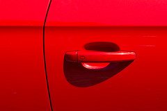 Door handle (Jan van der Wolf) Tags: auto door shadow red abstract monochrome lines car handle minimal line redrule minimalism schaduw minimalistic deur lijnen monochroom minimalisme handgreep playoflines map15575ve