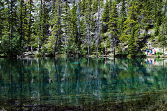 summer reflections (~ Mariana ~) Tags: friends summer lake canada forest reflections landscape nikon ab hike rockymountains canmore mariana grassilakes paololivornosfriends saariysqualitypictures outstandingromanianphotographers marculescueugendreamsoflightportal