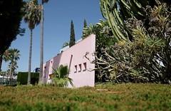 Spain 2016 (Claire_Sambrook) Tags: flowers sea cactus building beach architecture design spain sand travels europe contemporary flight lacala
