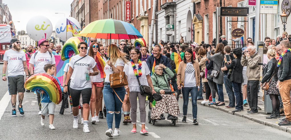 PRIDE PARADE AND FESTIVAL [DUBLIN 2016]-118113