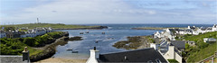 Portnahaven Islay te (The Terry Eve Archive) Tags: harbour portnahaven islay scotland westcoast village sea boats fishingvessels lighthouse
