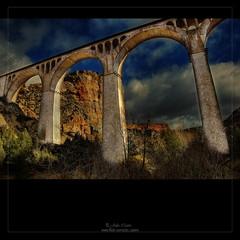 Camino de Hierro (Julio_Castro) Tags: nikon nubes montaa senderismo caminosdehierro nikond200 maderuelo juliocastro viaferrocarril hocesderioriaza